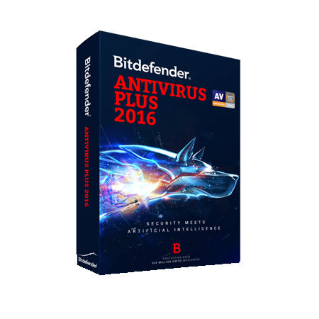 bitdefender bitdefender antivirus plus 2016 3 pc 1 an tech office solutions. Black Bedroom Furniture Sets. Home Design Ideas