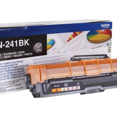 Brother Toner Cartridge Black 2500 Pages (tn-241bk)
