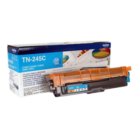 Brother Toner Cartridge Cyan 2200 Pages (tn-245c)